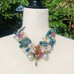 Betsey Johnson Mermaid Necklace